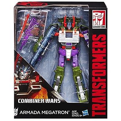 Transformers Generations Leader Class Armada Megatron Figure: Toys & Games