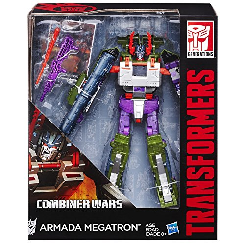 Transformers Generations Leader Class Armada Megatron Figure