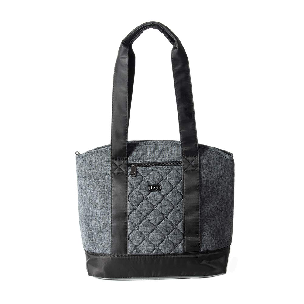 Lug Women's Scooter Lunch Tote, Heathr Grey Travel, Heather, One Size