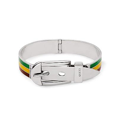 7074b9737 Amazon.com: Gucci Garden Bracelet YBA526946001018 Size 18.8cm / 7.40inch:  Jewelry