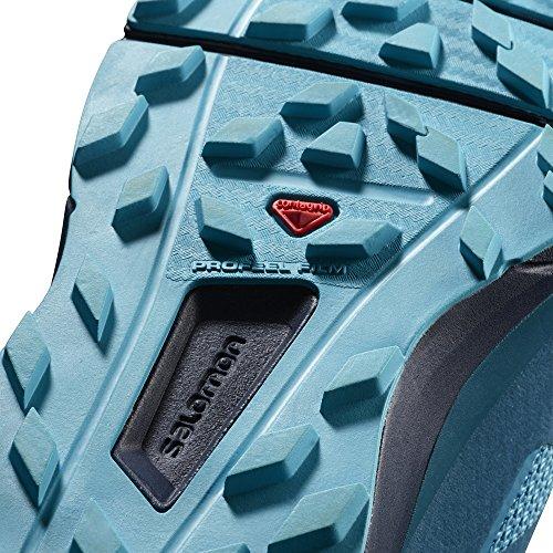 Salomon Sense Ride Running Shoe - Women's Blue Bird/Deep Lagoon/Navy Blazer 6.5 by Salomon (Image #2)