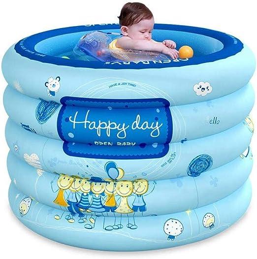 Lissom - Bañera hinchable para bebé, portátil, independiente para ...