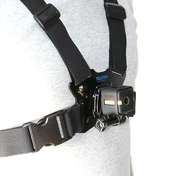 TELESIN Frame Mount Kit de Accesorios para Polaroid Cube y Estilo de Vida Polaroid Cube + cámara de acción
