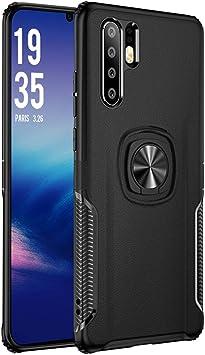 Funda Huawei P30 Pro,Estuche protector híbrido doble capa textura ...