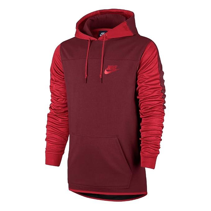 Nike M NSW Av15 Hoodie Po FLC Sweatshirt Herren, Farbe
