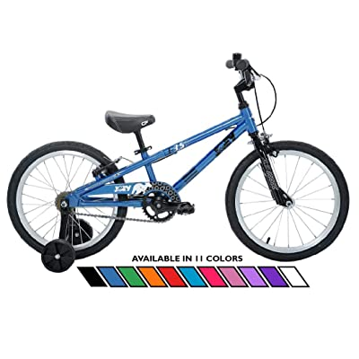 Joey 3.5 Ergonomic Kids Bicycle, For Boys or Girls, Age 3-6, Height 37-47 inches, in Blue : Sports & Outdoors