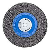 Mercer Industries 183020 Crimped Wire Wheel, 8'' x 3/4'' x 2'' (1/2'', 5/8''), For Bench/Pedestal Grinders