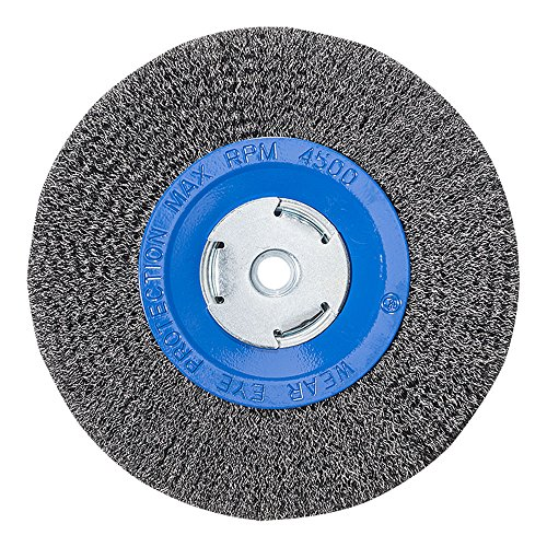 Mercer Industries 183020 Crimped Wire Wheel, 8