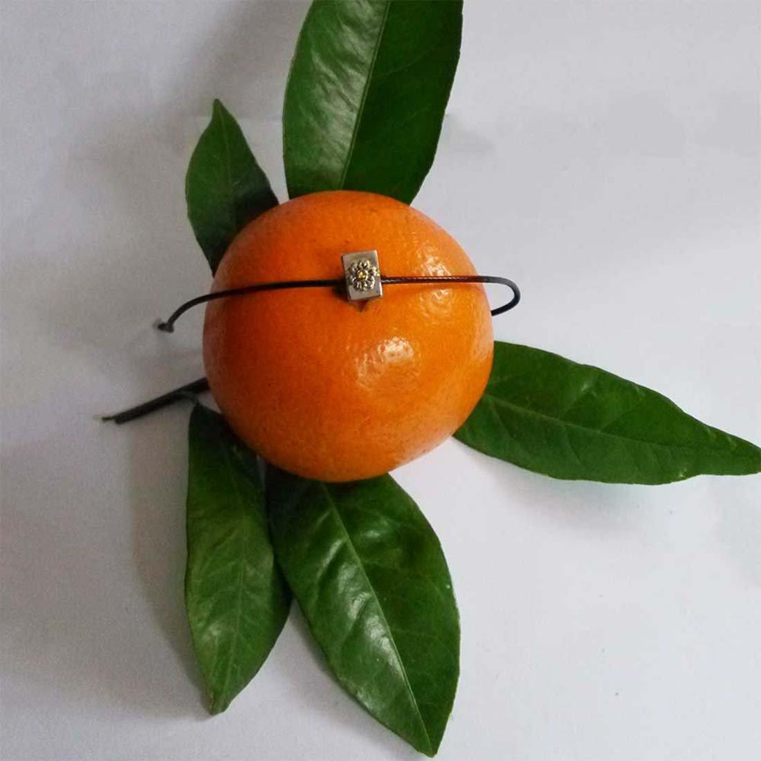 GiftJewelryShop Silver Plated Kiss Me Im Irish Topaz Crystal November Birthstone Flower Bead Charm Bracelets