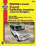 camionetas ford - Ford Camionetas, Expedition y Lincoln Navigator Manual de Reparacion (Haynes Manuals) (Spanish Edition)