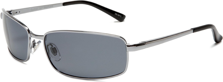 a6874587af50 Sunbelt Men's Neptune 190 Polarized Sunglasses,Gunmetal Frame/Grey Lens  Frame/Grey Lens