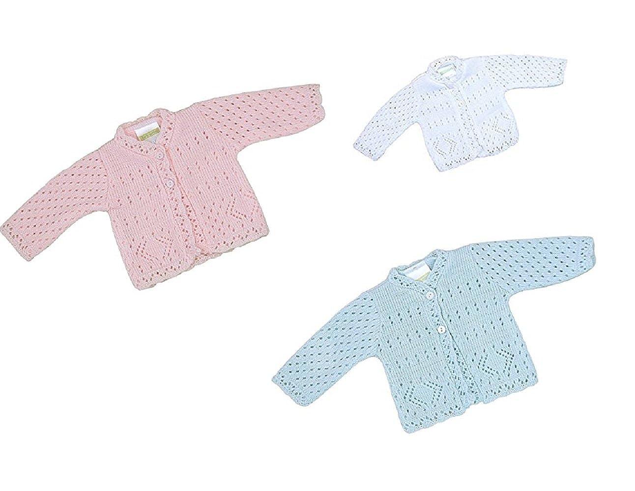 Premature Babies Cardigan Jumber Jacket Tiny Small Girls Boys 3-5 lbs 5-8 lbs