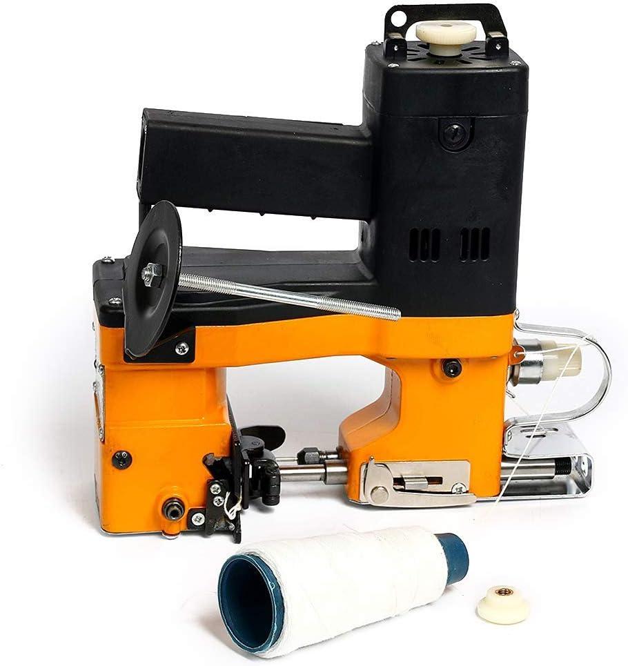 Máquina Cosedora de Sacos Eléctrica Portátil Selladora Industrial Empaquetadora Eléctrica Sellado de Costura para Bolsa de Plástico Sacos Bolsas: Amazon.es: Hogar