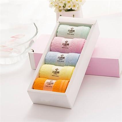 Royal- celulosa de bambú toallas de fibra absorbente toalla suave y cómoda adultos niños manopla