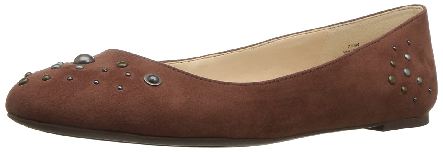 Nine West Women's Mary Flat B01MXTVNDL 9.5 B(M) US|Cognac