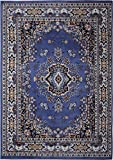 "Persian-Inspired Area Rug by Home Dynamix | Premium Collection Sakarya Rug, Style on a Budget | Indoor Stylish Decorative Rug in Purple | Traditional Medallion Style  3'7"" x 5'2"""