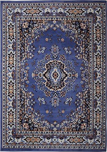 Blue Oriental Rug Amazoncom