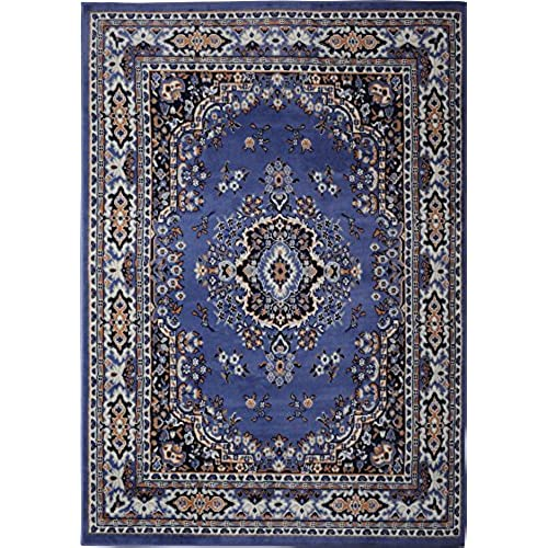 Blue oriental rug for Blue and white oriental rug