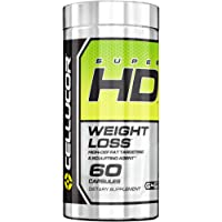 Cellucor SuperHD Thermogenic Fat Burner, Fat Burners For Men & Women, Weight Loss Supplement, 60 capsules