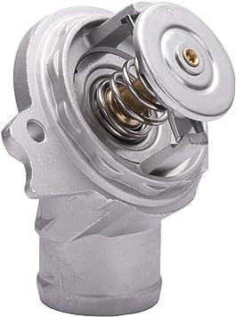 Engine Coolant Thermostat Aluminium Housing w// Seal fit Mercedes M112 1122030275
