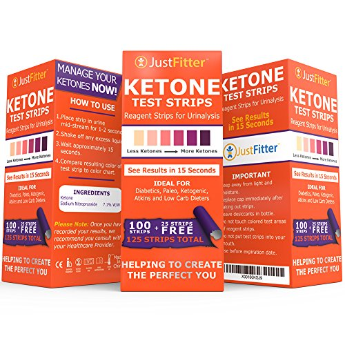 Ketone Keto Urine Test Strips. Lose Weight, Look & Feel Fabulous on a Low Carb Ketogenic or HCG ...