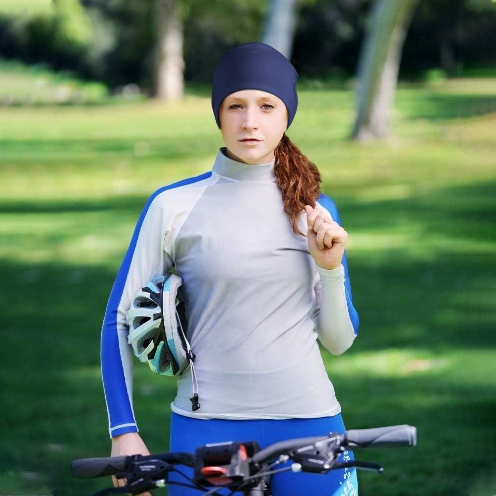 HASAGEI Laufm/ütze Herren Damen M/ütze Beanie Radm/ütze Sportm/ütze Thermo Atmungsaktiv f/ür Laufen Skifahren Snowboard Joggen Radfahren Motorradfahren