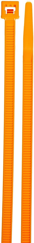 3 Bundle Diameter 11.1 Length Orange 50lbs Tensile Strength 0.187 Width Standard Fluorescent Cable Tie