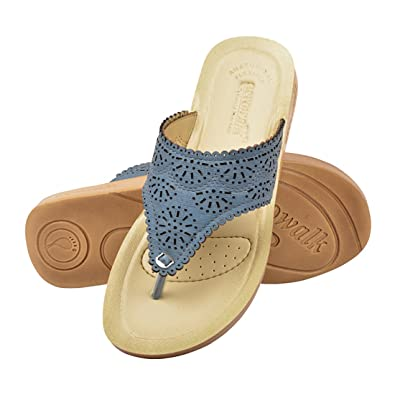 AEROWALK Womens Sandals Casual use Colour Variant Blue Gray Pink Ladies Slippers Women Shoes and Sandal Ladies Slipper Flat Womens Chappal and