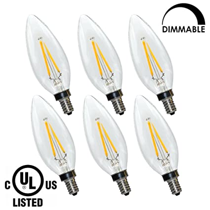 Led candelabra bulb dimmable b10 e12 base 2w 2700k 180 lumens led candelabra bulb dimmable b10 e12 base 2w 2700k 180 lumens candle led bulb aloadofball Gallery