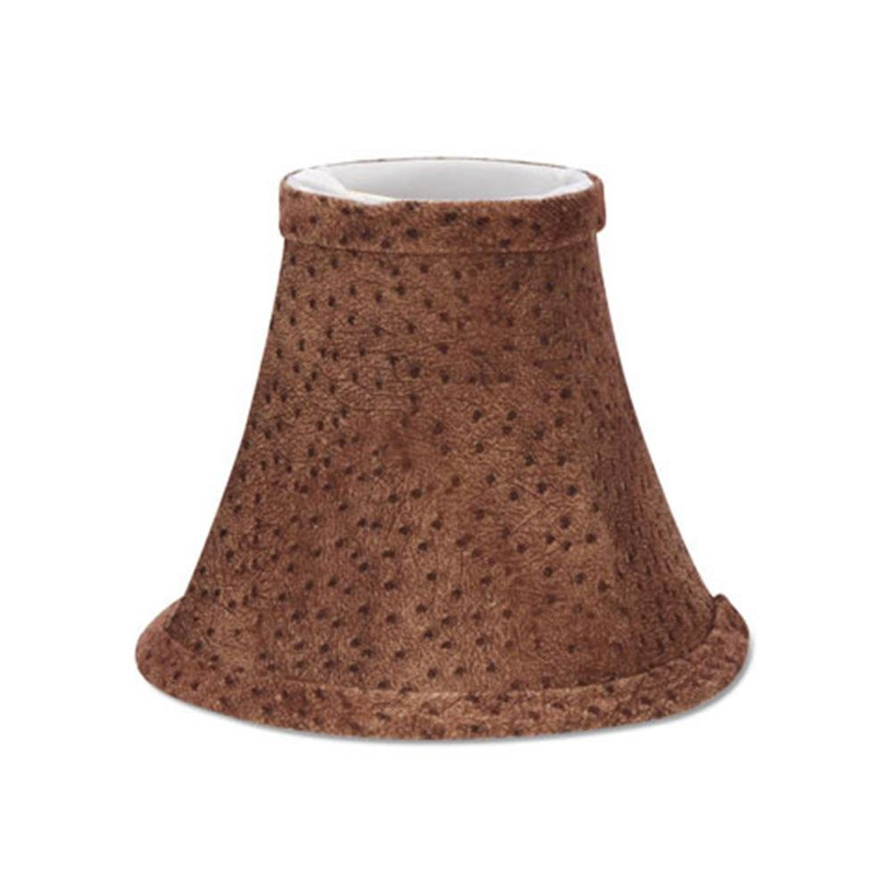 Darice 2609-841 Brown Animal Print Lampshade