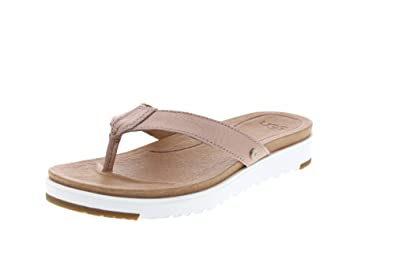 b8e175832372 UGG - Sandals Lorrie Metallic - Rose Gold  Amazon.co.uk  Shoes   Bags