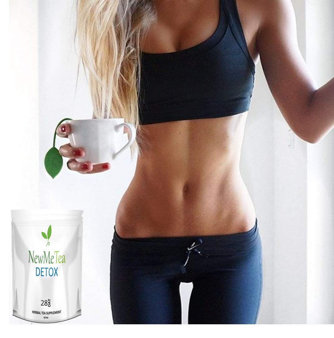 28 Day Detox Cleanse Tea (Weight Loss, Fat Burn, Slim, Skinny Fit, Calm Body + Skin) 100% Natural & Delicious Taste. Increase Metabolism + Energy, Decrease Appetite + Bloating.