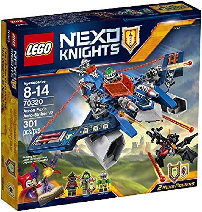 LEGO NexoKnights 70320 Aaron Fox's Aero-Striker V2