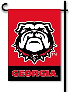 BSI NCAA Georgia Bulldogs 2-Sided Garden Flag