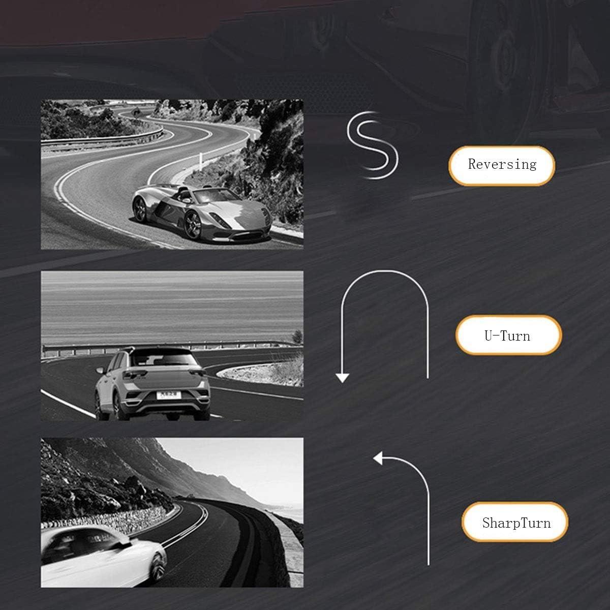 Smaw Puissance poign/ée volant de voiture Suicide Spinner Accessoire Bouton for voiture v/éhicule simple main conduite auxiliaire de commande Poign/ée boule