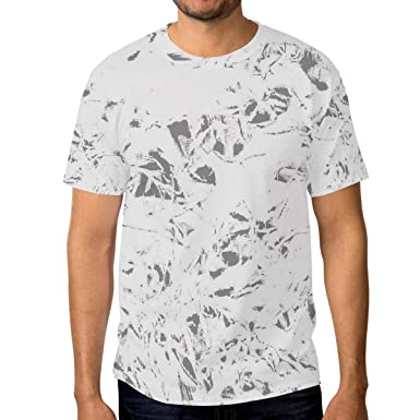 5d110e0b164f Image Unavailable. Image not available for. Color: Jonassk Woolffk Calm  Marble Pattern Men's Short Sleeve T-Shirt Royal Blue ...