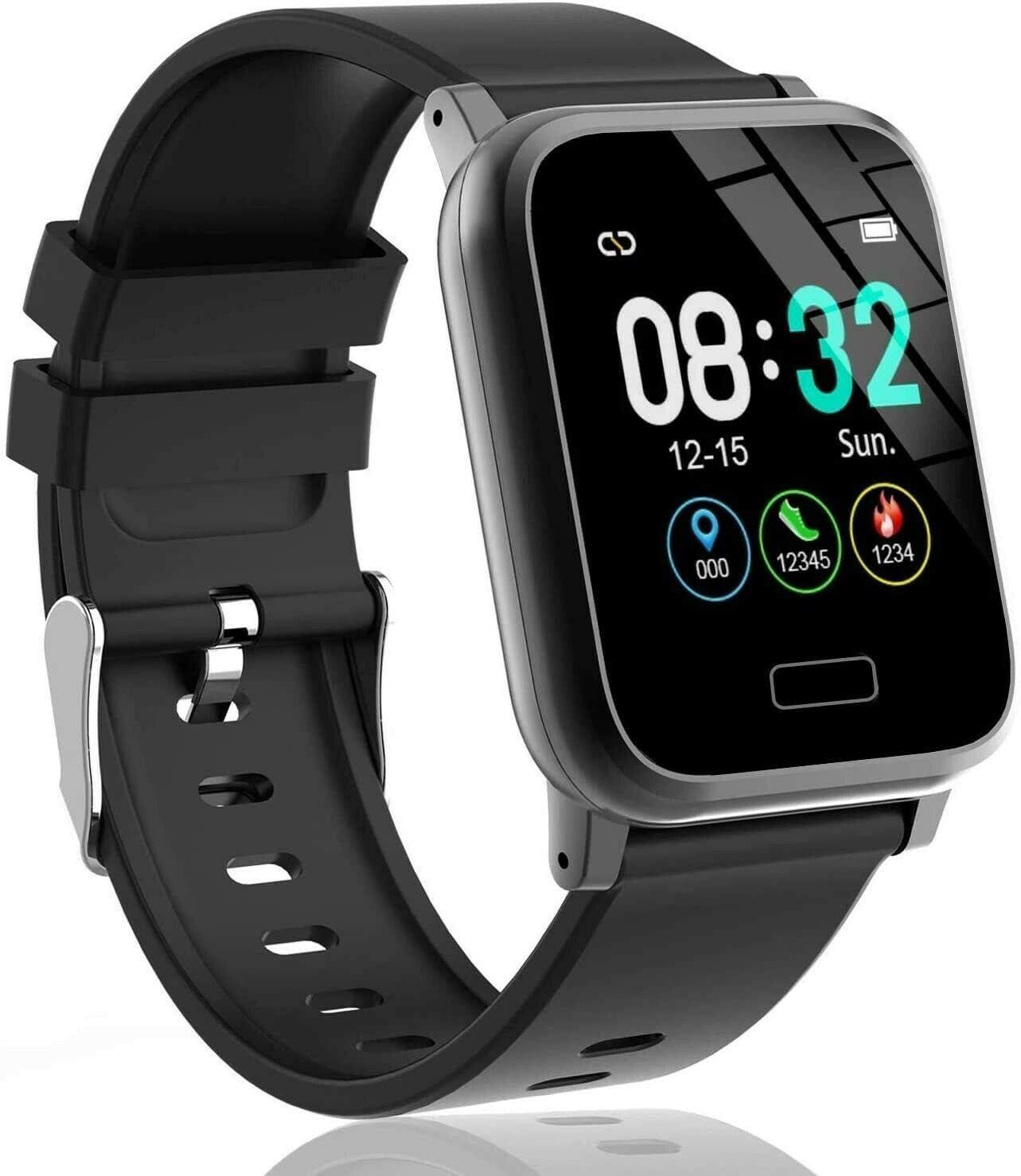 Showyoo Reloj inteligente, Pulsera de Actividad Pantalla a Color 1.3