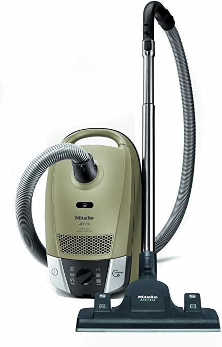 Miele S6290 Silence Bagged Cylinder Vacuum Cleaner, 1200 Watt, Lily Green Pearl