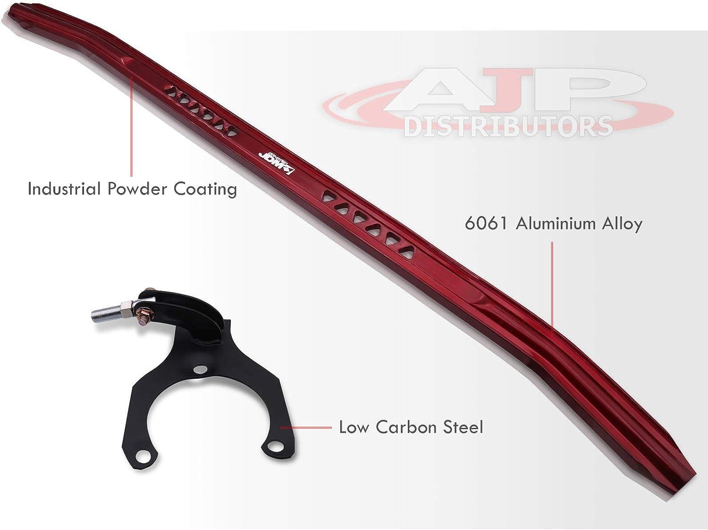 AJP Distributors Silver Aluminum Jdm Sport Suspension Front Upper Strut Bar Brace Performance Racing Stabilizer Adjustable Tower Handling For Mitsubishi Lancer Es Ls