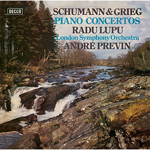 SACD : Radu Lupu - Schumann & Grieg: Piano Concertos (Limited Edition, Direct Stream Digital, Super-High Material CD, Japan - Import, Single Layer SACD)