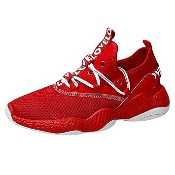 EUZeo - Zapatillas de deporte para hombre, transpirables, para ...