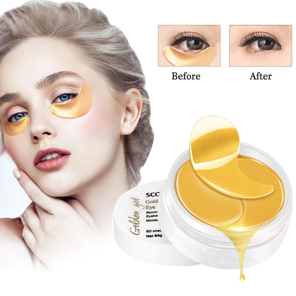 8f5de9f00ba Collagen Eye Mask, Under Eye Mask, Anti Aging Eye Patch Gold eye masks for