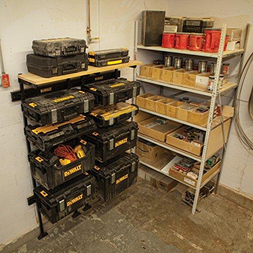 DEWALT DWST08270 Tough System Workshop Racking System with Tough System Organizer by DEWALT (Image #8)