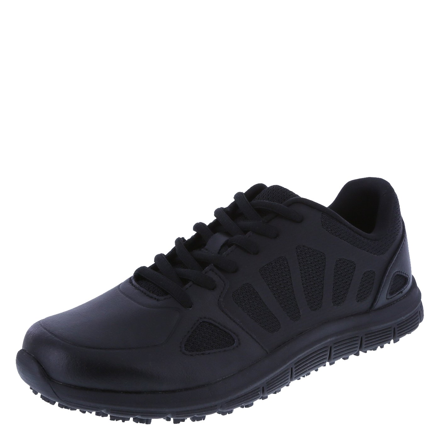 safeTstep Women's Black Slip Resistant Avail 2.0 Runner 10 Regular