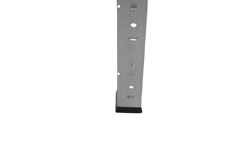 Archivregal Lagerregal Werkstattregal Ordnerregal Shelf Creations Basic Schwerlastregal verzinkt 230 x 140 x 60 cm mit 7 B/öden Stecksystem aus Metall verzinkt: Metallregal geeignet als Kellerregal