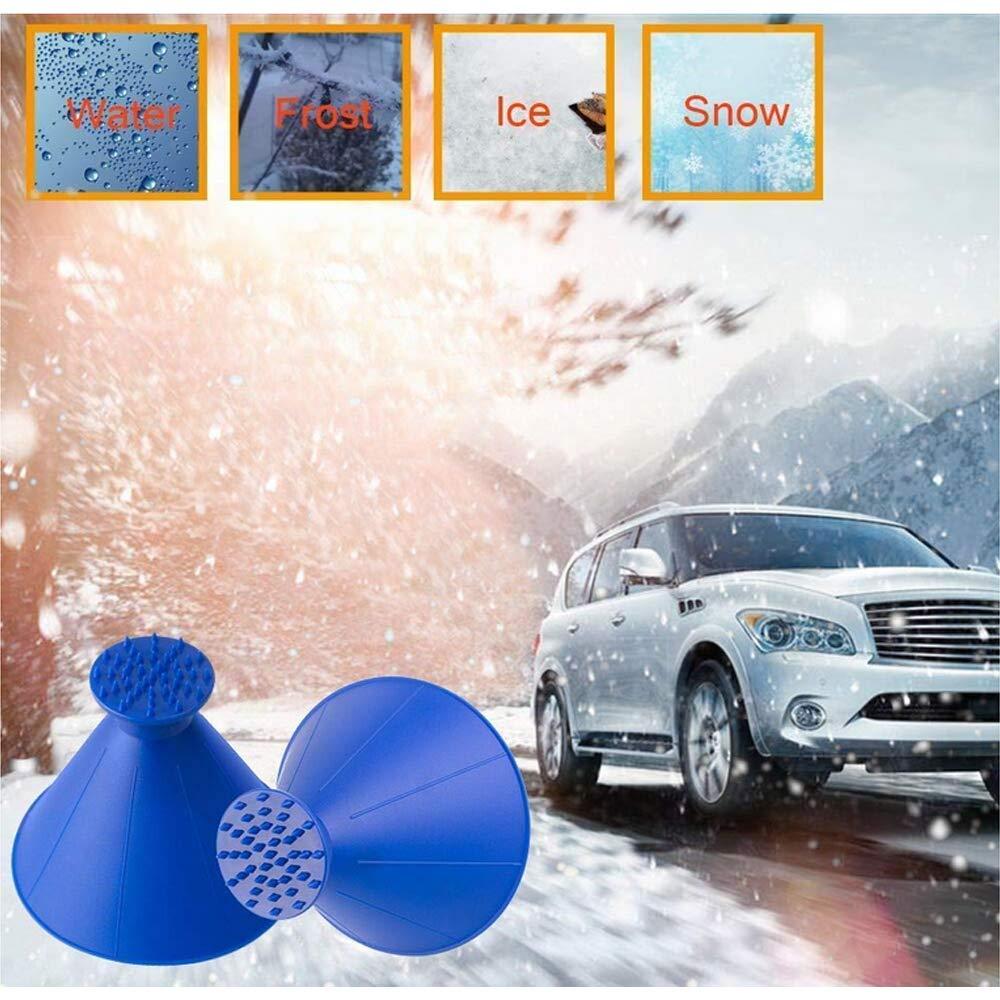 LGFB Cristal de la Nieve removedor de m/últiples Funciones del Coche autom/ático de deshielo del Parabrisas descongelantes cepillos de Limpieza de Hielo m/ágico de Herramientas para Camiones SUV 2pcs