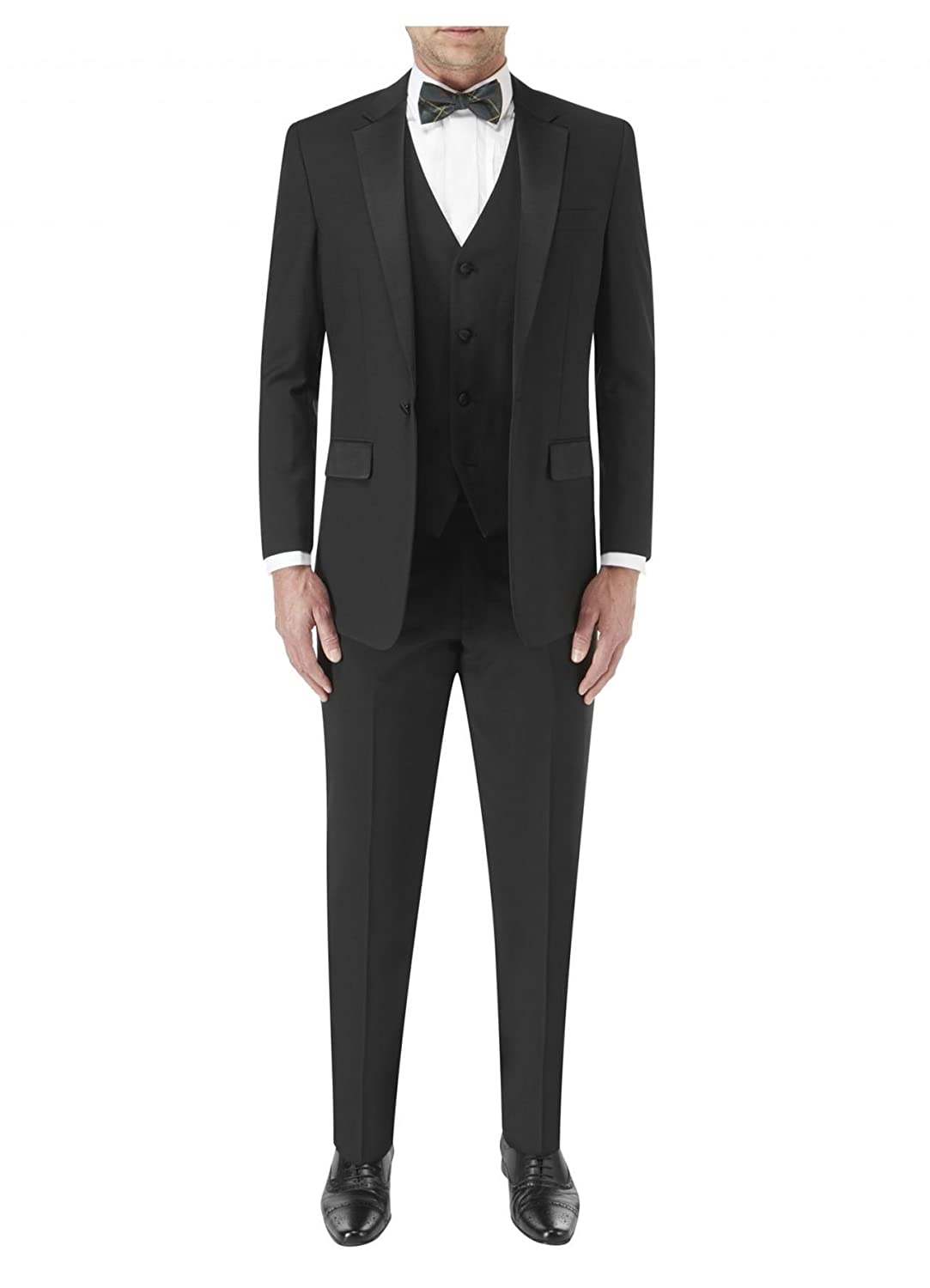 Skopes Latimer 2 Piece Dinner Suit In Black In Size 38 To 60 inches/S/R/L