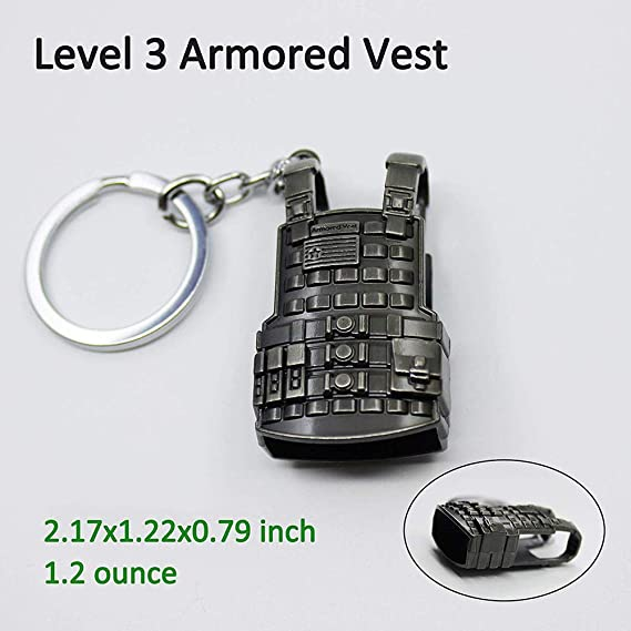 Metal Keychain PUBG AWM Model, Metal PUBG Keychain Accessories Keychain