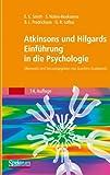 Atkinson und Hilgards Einführung in die Psychologie, Nolen-Hoeksema, Susan and Fredrickson, Barbara L., 3827414059