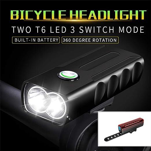 Juego de Luces Le Bicycle, Luces de Bicicleta LED Lámpara de ...